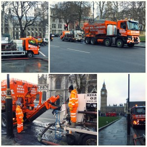 Easymix Concrete at London's Parliament Square