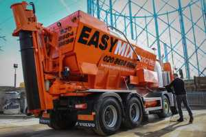 EasyMix Concrete UK LTD - New mixer