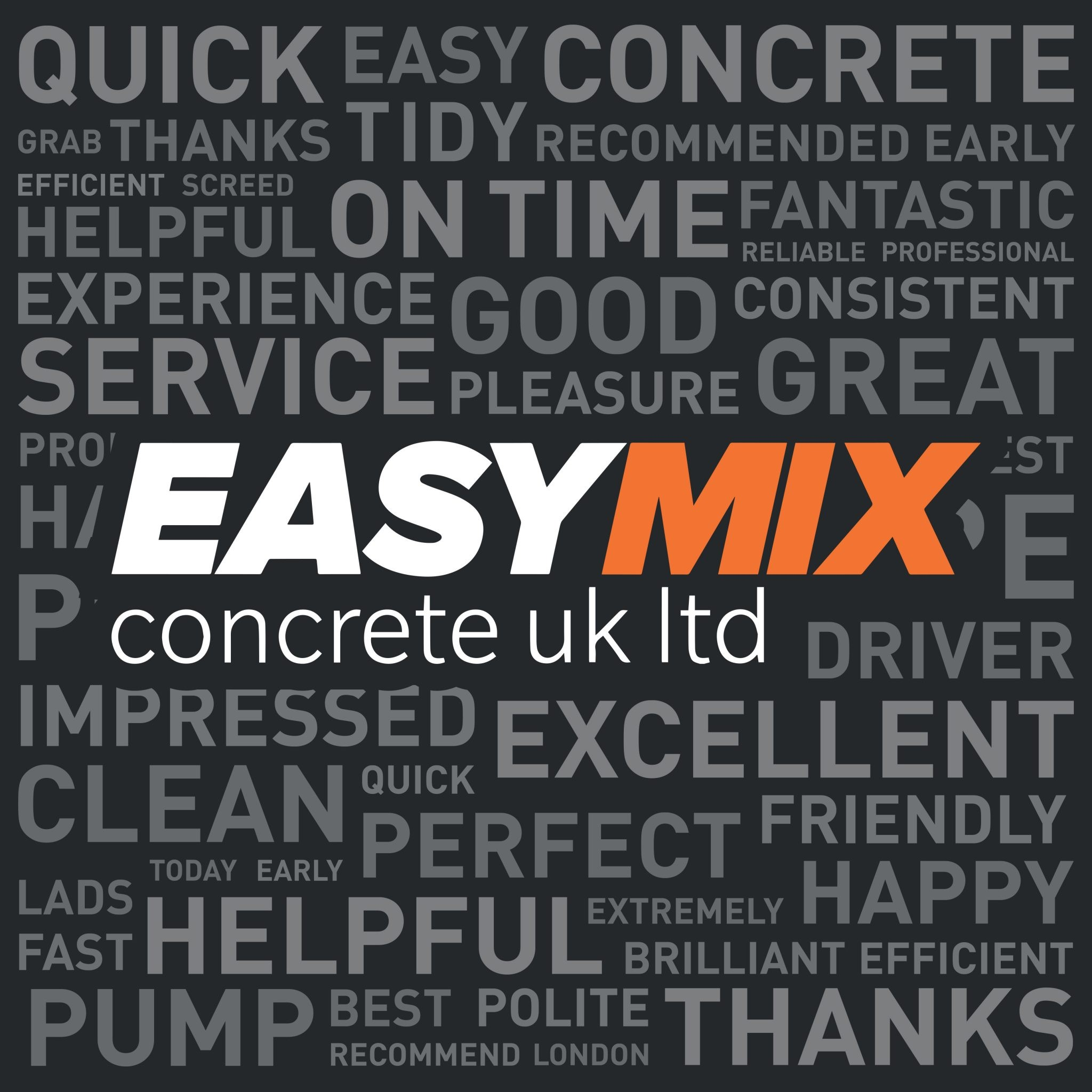 Easy Mix Concrete logo