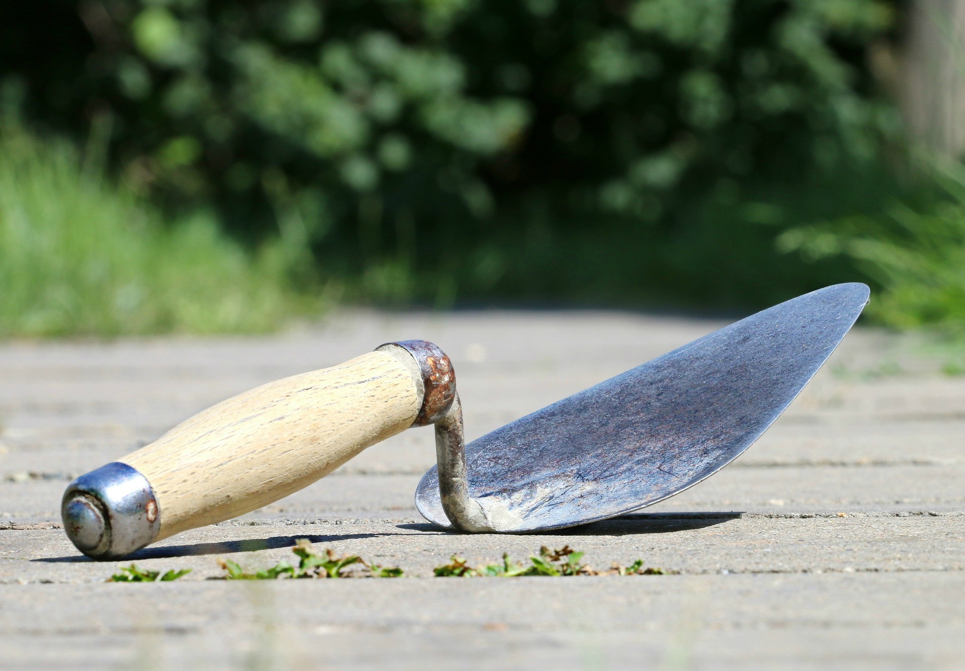 Trowel - one of the best tools for finishing concrete